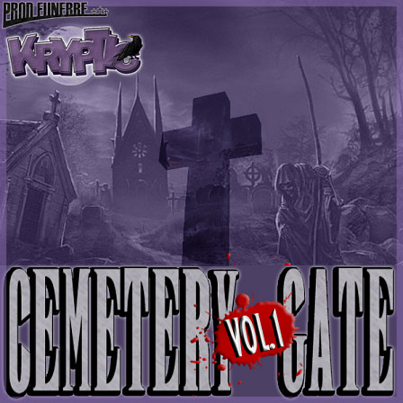 Cemetery Gate Vol 1 - Six Hip Hop Construction Kits with danging drums and more