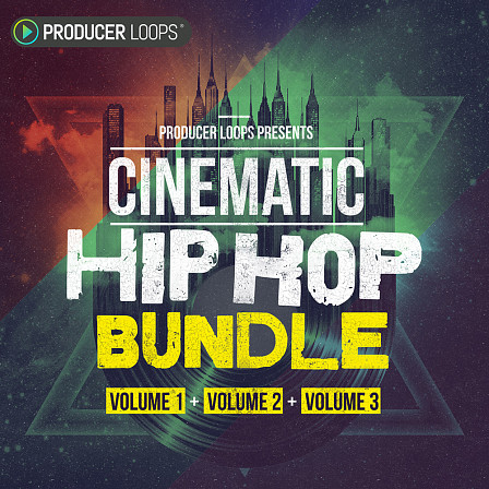 Cinematic Hip Hop Bundle (Vols 1-3) - A combination of the first 15 Construction Kits in this Horror Hip Hop series