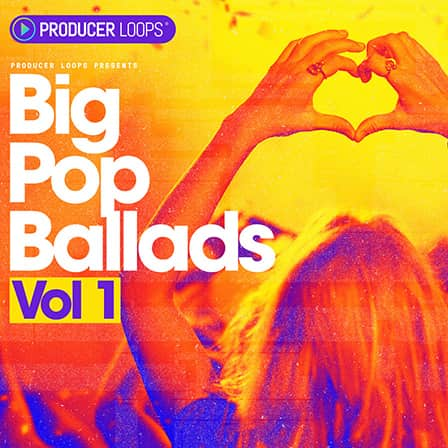 Big Pop Ballads Vol 1 - Pop instrumentals with big drums inspired by ZAYN, Sia and Little Mix
