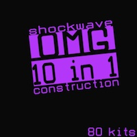 Shockwave OMG 10 In 1 - A fantastic collection of 80 amazing Construction Kits