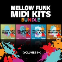 Mellow Funk MIDI Kits Bundle (Vol.1-4) product image