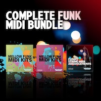 Complete Funk MIDI Bundle - Sounds to get funky melodies into your production