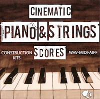 Cinematic Piano & Strings Scores - Add some class to your movies and song productions