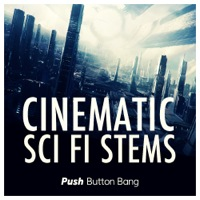 Cinematic Sci Fi Stems - 110 full length futuristic soundscape stems perfect for creating sonic moods