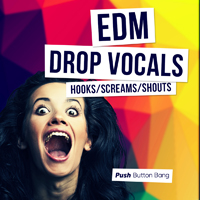 EDM Drop Vocals - Hooks, Screams & Shouts product image