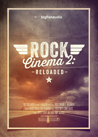 Rock Cinema 2: Reloaded - 15 high quality construction kits of cinematic Rock