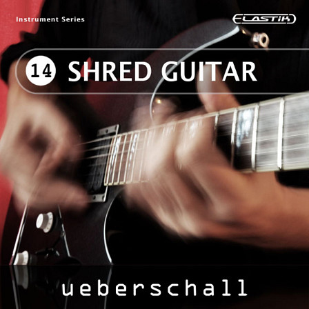 Shred Guitar - 252 shred guitar loops by Ueberschall