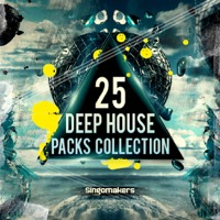 25 Deep House Packs Collection - Bestselling House, Deep, Bass House and Future House samples from Singomakers