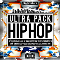 Hip Hop Ultra Pack - Full of superb Beats, Scratches, Rap Vocals, Vinyl Cutz, Melodies and more!