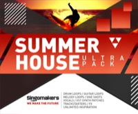Summer House Ultra Pack - Professionally played and recorded guitars, pianos, drums, vocals and more