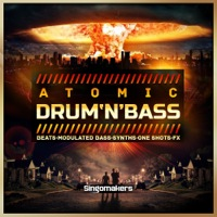 Atomic Drum 'N' Bass - Free your mind with this crazy D&B collection
