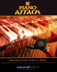 Piano Attack - A unique sample collection of hammered, beaten, prepared and abused pianos