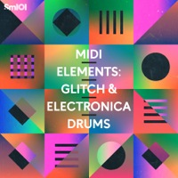 Midi Elements: Glitch & Electronica Drums product image