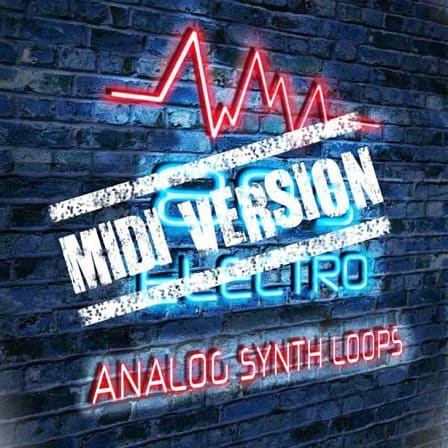 80's Electro: MIDI Version - A superb collection of electronic MIDI keyboard loops