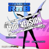 Modern RnB: MIDI Version - A superb collection of the coolest RnB keyboard riffs available