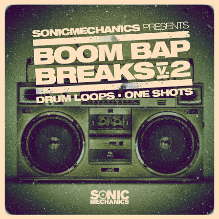 Boom Bap Breaks 2 - A collection of clean and processed drum breaks