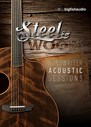 Steel & Wood: Songwriter Acoustic Sessions - 25 songwriter acoustic session construction kits