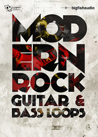 Modern Rock - Modern Rock Guitar and Bass Loops