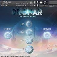 Dronar Live Strings - Highly playable pads and atmospheres creator