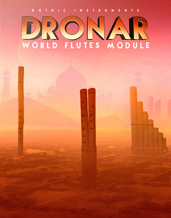 DRONAR World Flutes Module - Create soundscapes from darkness and trepidation to hope and promise