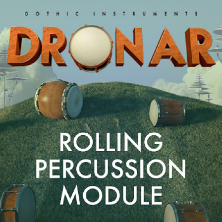 DRONAR Rolling Percussion - A massive set of beautiful, rich atmospheric evolving pads