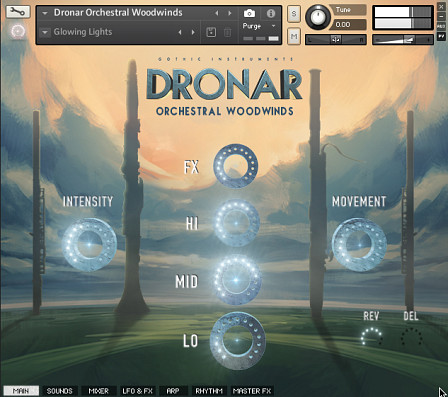 DRONAR Orchestral Woodwinds - Innovative Organic Atmosphere Sound Creator