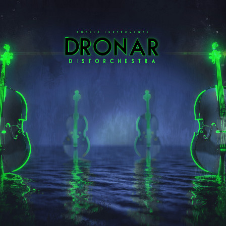 DRONAR Distorchestra - Ingeniously processed orchestral samples from strings, brass and woodwinds