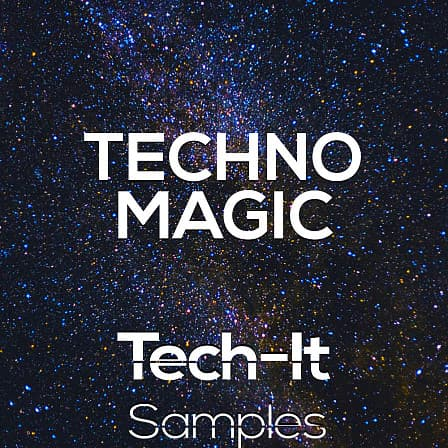 Techno Magic - Tech-It Samples is proud to present 1.3 GB of fired up techno samples and kits!