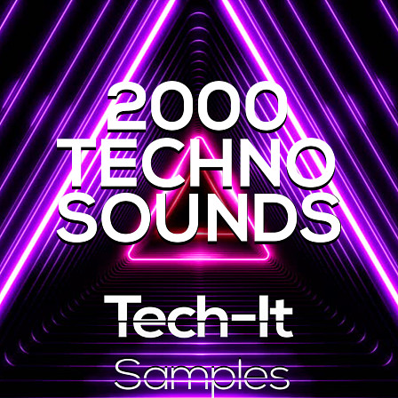 2000 Techno Sounds - A huge amount of sounds for the production of Techno music!