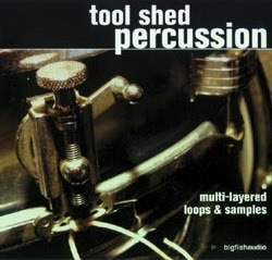 Tool Shed Percussion - Experimental, organic drums and percussion, Waits-esque grooves, ambiences