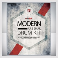 Modern Arsenal Drum Kit Vol.1, The - The sounds of today's Trap and 808 hits, classic Hip Hop sounds, and more