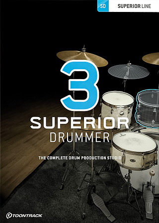 Superior Drummer 3 - The award-winning, pro drum production studio has taken it to a new level!