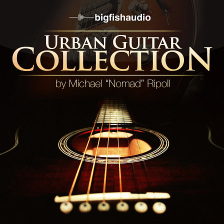 Urban Guitar Collection - 1.35 GB of urban guitars ranging from 85-150 BPM