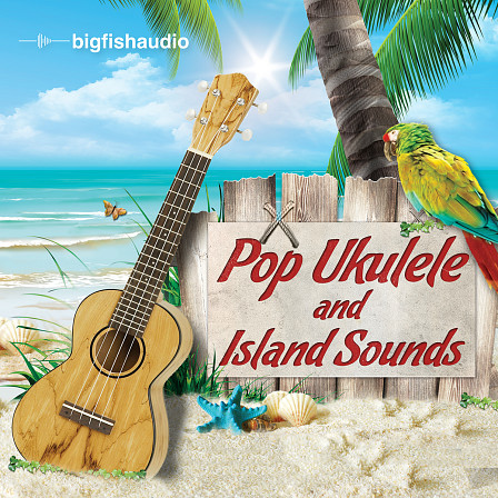 Pop Ukulele and Island Sounds - 12 construction kits packed full of essential island sounds