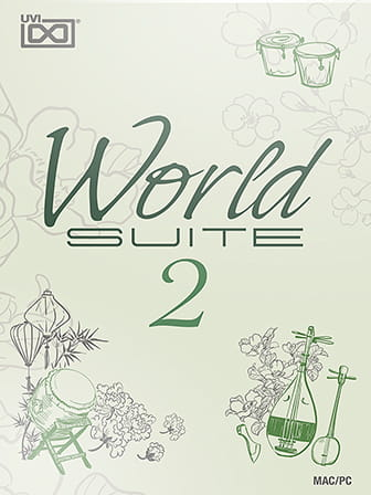 World Suite 2 - Instruments from around the globe!
