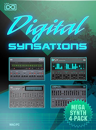 Digital Synsations - 4 synthesizers from the late 80's and early 90's