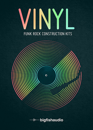 Vinyl: Funk Rock Construction Kits - 30 Funk Rock kits with a vintage touch