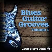 Blues Guitar Grooves Vol.1 - 47 rough and ready Blues guitar loops arranged into 7 Construction Kits