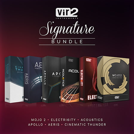 Vir2 Signature Bundle, The - The Ultimate Virtual Instrument Collection