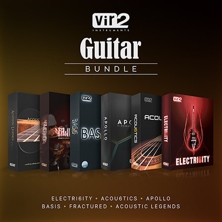 Vir2 Guitar Bundle, The - The Ultimate Virtual Guitar Collection