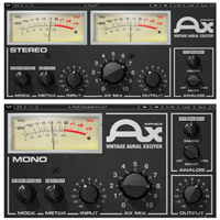 Aphex Vintage Aural Exciter - This plugin delivers all the unique character of the rare original hardware unit