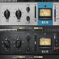 CLA-76 Compressor / Limiter - The CLA-76 delivers some of the most powerful drum sounds imaginable