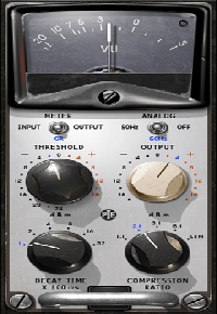 Kramer PIE Compressor - The Kramer PIE Compressor was precision-modeled on a vintage Pye compressor