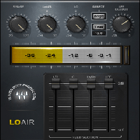 LoAir - Two adjustable low-frequency processors for shaping your ultra-low end
