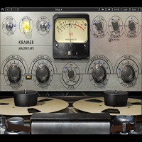 "Kramer Master Tape - Kramer Master Tape plugin is modeled on a rare vintage 1/4"" reel-to-reel machine"