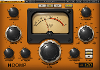 H-Comp Hybrid Compressor - Transformers, tubes, and transistors fused together into one solid Plug-In