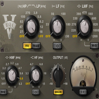 V-EQ4 - The V-EQ4 captures the characteristic sound of vintage analog gear