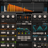 H-Reverb Hybrid Reverb - Innovative Finite Impulse Response reverberation technology