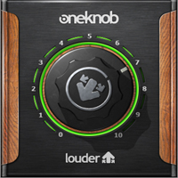 OneKnob Louder - Make your tracks loud without losing any of the quality!