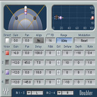 Doubler - Professional engineers turn to the Doubler for premium double-tracking effects